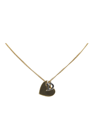 Heart Logo Pendant Necklace