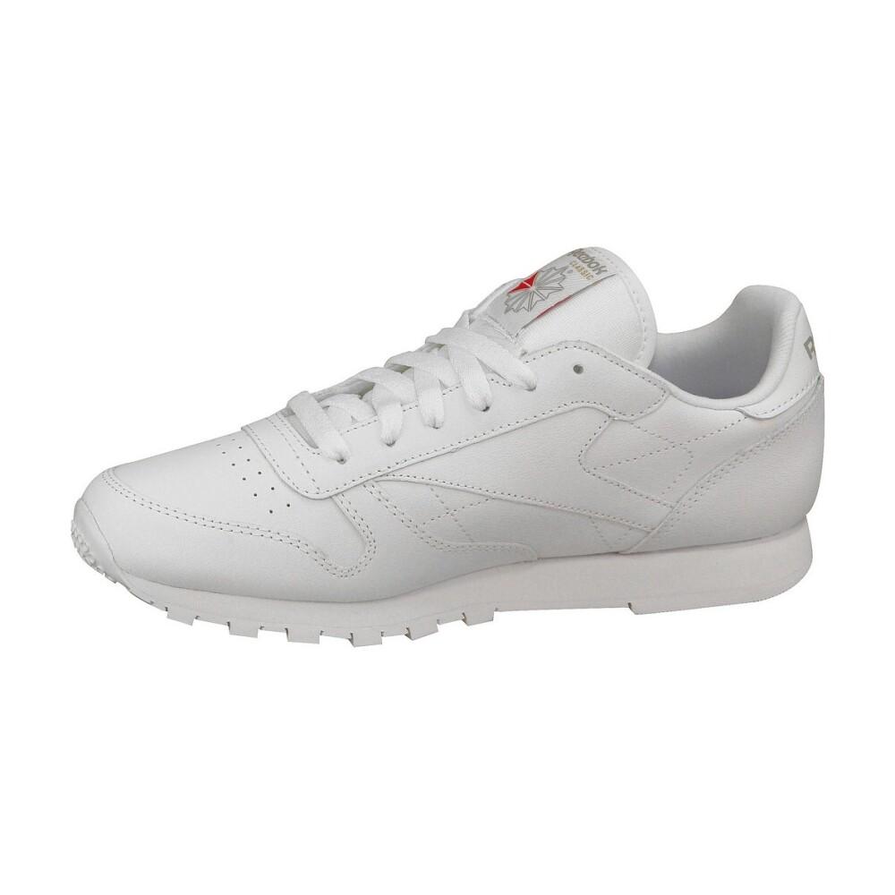 sneakersy Reebok Classic Leather Białe Skórzane Sportowe Damskie 2232