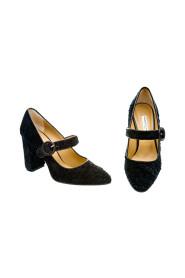 MARY JANE shoes in velvet