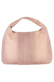 pre-owned  Intrecciato Leather Maxi hobo Bag