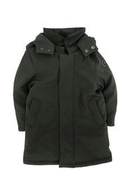 LONG PADDED JACKET WITH BREAST POCKETS