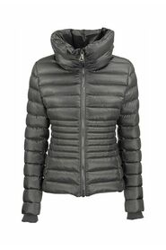 FRIENDLY - Shiny down jacket with high collar