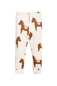 Leggings med hesteprint