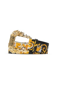Baroque print belt