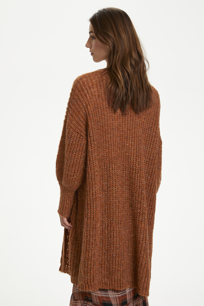 Brown KAbenni Knit Cardigan  Kaffe  Koftor