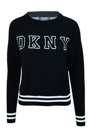 Embroidered Track Logo Sweater