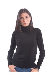 High Neck Pull With Ruffles - F120W04013K03801