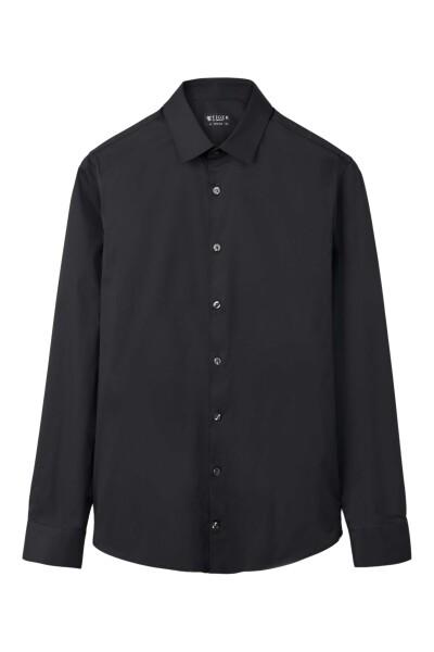 Black Skjorte | Tiger of Sweden | Langermede skjorter