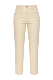 Vegan-læder bukser