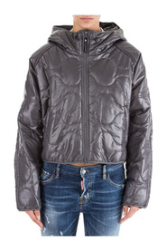 women's outerwear down jacket blouson hood