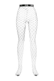 fishnet stockings GCDS