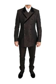 Double Breasted Slim Fit Suit