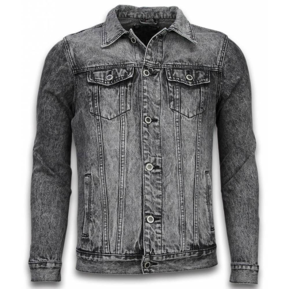 Spijkerjasje Denim Jacket - Stonewashed Look