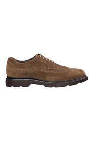 men's classic suede lace up laced formal shoes Route derby