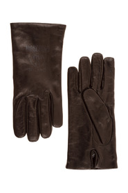 leather gloves Double Question Mark