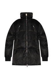 Down jacket with zips