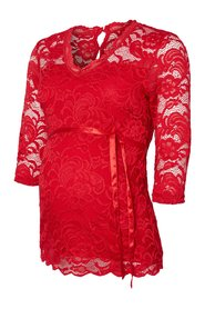 Maternity top, 3/4 sleeved Lace