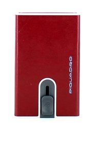 Credit card holder with Sliding System and money clip