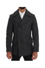 Wool Stretch Trench Coat