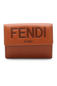 Micro Trifold Leather Wallet