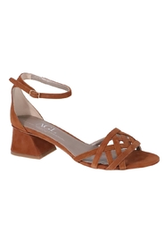 Sandals 651018 Velour Cuoio