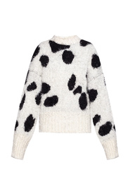 Sweater with dots