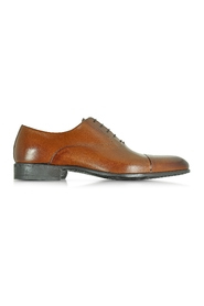 Dublin Tan Calf Leather Oxford Shoes w/Rubber Sole