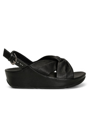 Sort Fitflop Twiss Leather Sandaler, Bn 138