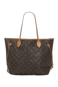Monogram Neverfull MM lerret