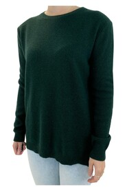 sweater with double zip