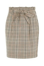 Skirt Chequered Paperbag
