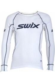 Hvit Swix RaceX BodyW LS treningstrøye