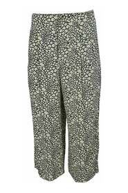 Printed Silk Culotte -Pre Owned Condition Excellent IT38