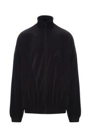 High-neck zip-up jacket