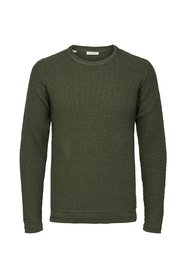 Knitted Pullover Textured -