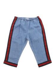 Pantalone con dettaglio Web