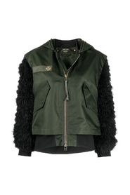 AUDREY TRITTO CAPSULE JACKET WITH FEATHERS