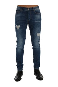 Torn Dundee Slim Fit Jeans