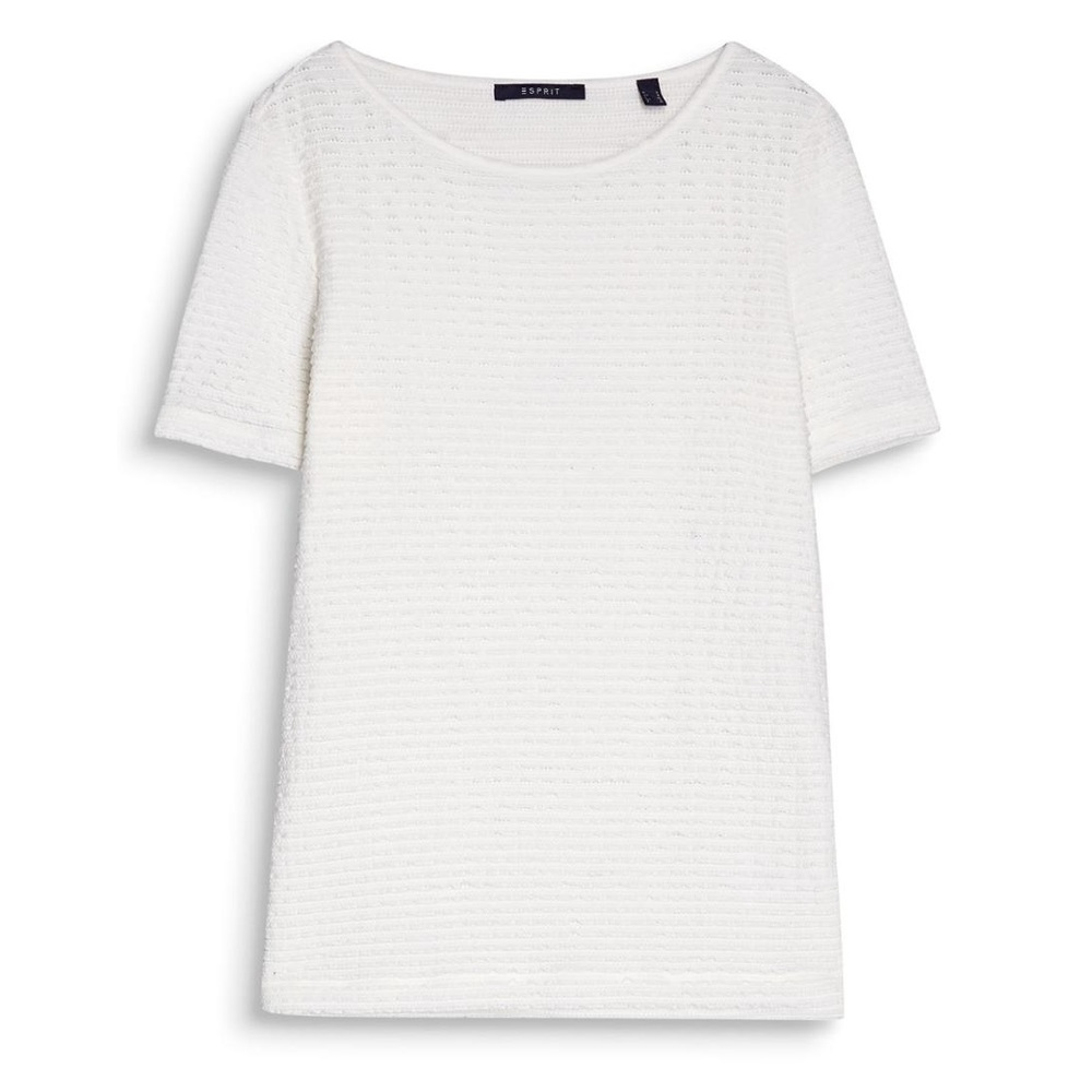 Esprit Layered Lace Top Offwhite
