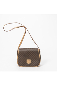 Flap Round Shoulder Bag