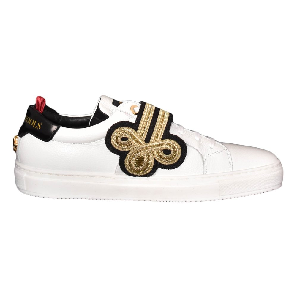White SNEAKERS CON APPLICAZIONE | Lords  Fools | Sneakers | Herenschoenen
