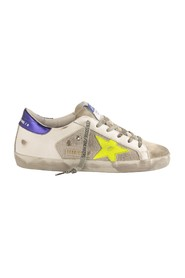 Super Star Sneakers with Fluo Star