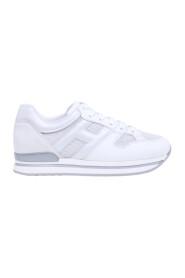 Sneaker H222 skóry i tkaniny przewodowy