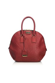 Grained Leather Orchard Handbag