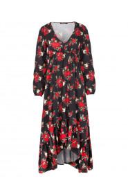 Sukienka asymetryczna A322