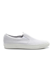 Hvit M.A.M.B Oslo Loafer - Perf Leather Sko