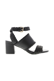 Belle 1-a leather woven sandals