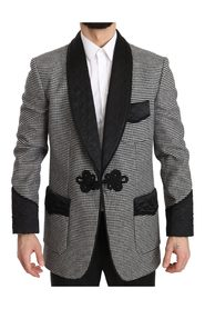 Wool Quilted Jacket Coat  Blazer