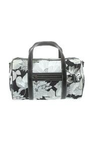 Pre-owned Floral Print Canvas Boston Bag