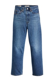 RIBCAGE STRAIGHT ANKEL JEANS